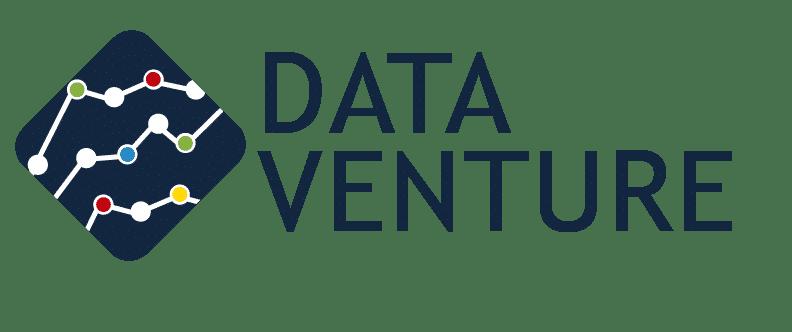 Logo Dataventure consultoría en Color Azul
