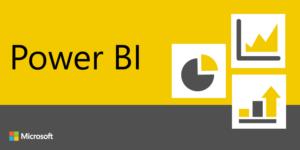 Logo de la herramienta de Power Bi Microsoft